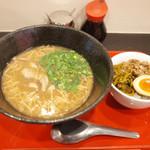 台湾麺線 - 台湾麺線セット(850円) 魯肉飯つき。