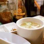 焼鳥 ブロシェット - 鳥スープ