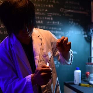 日本初!化学実験が見れるお店