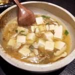 63416306 - カニあんかけ豆腐