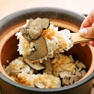 【数量限定・要予約】トリュフと和風だしが香る「土鍋ご飯」