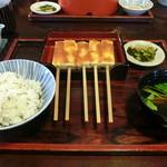 田楽木曽屋 - 田楽定食