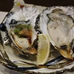 寿し肴和志 - 浦村セル牡蠣