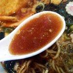 キララ - 和風醤油に河豚の香りがw