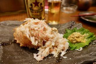 おさかなや 魚魚権 神泉店 - 毛がに全ほぐし 2280円
