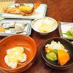 旅師の宿 やかた - 料理写真:夕食1