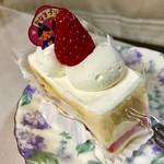 カフェ・シャローム - ショートケーキ