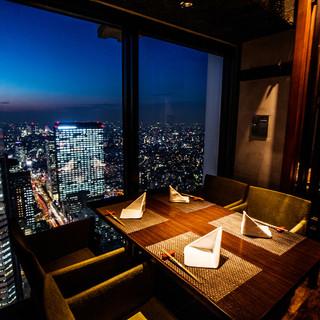 【デートにおすすめ♪】窓際カップルシートor個室