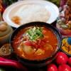 パンチマハル - 料理写真:鶏もも肉とキャベツのさらさらチキンカレー