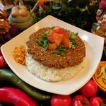 パンチマハル - 夜限定/鶏挽き肉のドライカレー