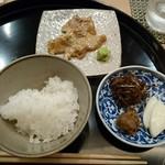 祇園 山本 - 鯛のごま和えが炊きたてご飯とぴったり