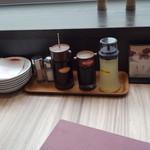 国産牛焼肉くいどん - テーブルセット