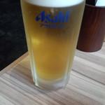 国産牛焼肉くいどん - ランチ生ビール(350円)