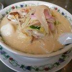 江山楼 - 特製什景湯麺(特上ちゃんぽん)