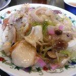 江山楼 - 特製什景炒麺(特上皿うどん細麺)