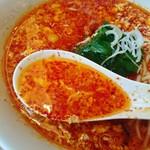 川崎苑 - 溶き玉子多めのスープ