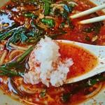 川崎苑 - 白飯をスープに…