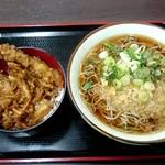 天かめ - 天丼セット:500円