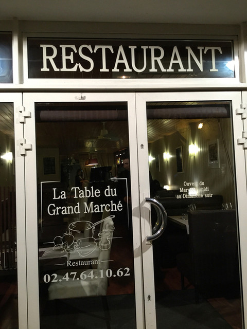 La table du grand march - Restaurant la table du grand marche tours ...