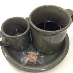 ローズベーカリー - クリームティのセットのコーヒー