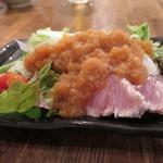 鯛之鯛 - 天然鰤湯霜サラダ