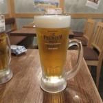 鯛之鯛 - 生ビール