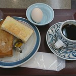 ヴァンヴェール - モーニング トーストセット コーヒー