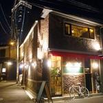 fujita - 外観 レンガがお洒落❤