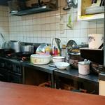 プチ ラパン - 厨房