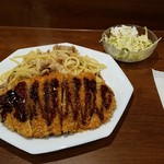 プチ ラパン - 和風スパカツとサラダ