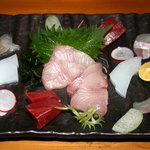 旬魚処 海蔵 - お刺身の盛合せ