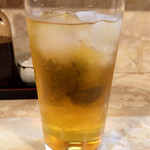 かどや - ドリンク写真:緑茶ハイ