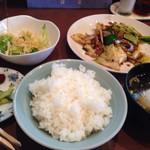 63444952 - ホイコーロー定食¥650