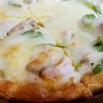 カフェファド - 料理写真:ミックスピザ! Mサイズ