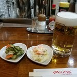 カフェファド - 堪らなくビールを