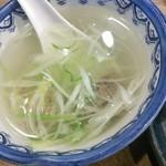 shodaigyuutanakabee - テールスープ