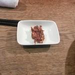 shodaigyuutanakabee - 無料で注文できる 辛味噌なんばん こちらは赤味噌の激辛