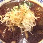 房州麺処 麺屋ちゃいなはうす - 黒胡麻担担麺