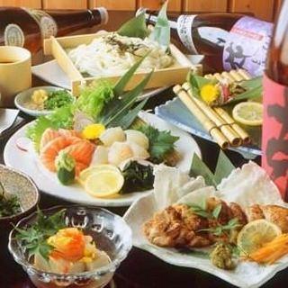 お得な飲み放題付コースは4500円~ご用意しております!