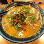 ラー麺マン - チャーシューメンマン(旨辛・普通麺)