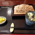 和味 - せいろ蕎麦 750円