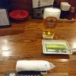 63451805 - 2017年1月 生ビール 570円+きゅり
