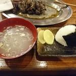 63451819 - 2017年1月 おにぎり 150円+鶏ガラスープ