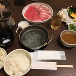 鍋家 だるま堂 - ミックスしゃぶランチ☆★★☆