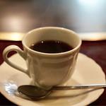 ステーキ ロン - 食後のコーヒー
