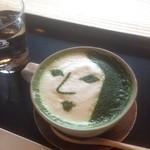 よーじやカフェ - 抹茶ラテ