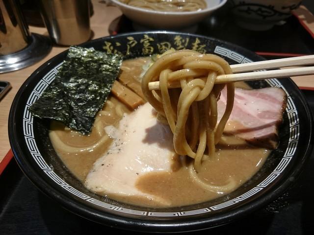 松戸富田製麺 ららぽーとTOKYO-BAY店 - 濃厚中華そば