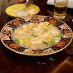 天祥 - 海老の蟹肉炒め