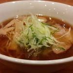 麺や壱真 - 鰺そば@¥750