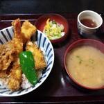 深川 - ランチ天丼